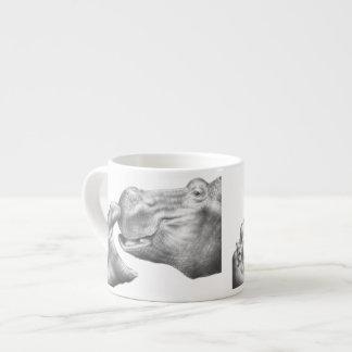 Hippo & Calf Espresso Cup