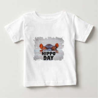 Hippo Day - 15th February - Appreciation Day Baby T-Shirt