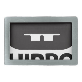Hippo Day - 15th February Belt Buckle
