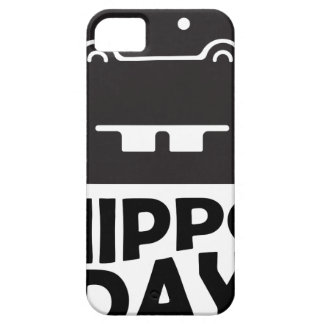 Hippo Day - 15th February Case For The iPhone 5
