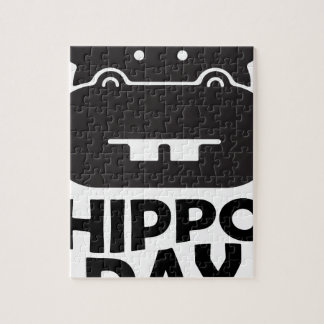 Hippo Day - 15th February Jigsaw Puzzle