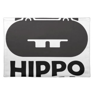 Hippo Day - 15th February Placemat