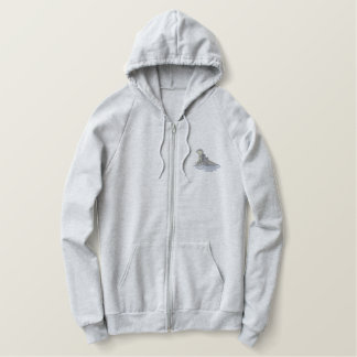 Hippo Embroidered Hoodie