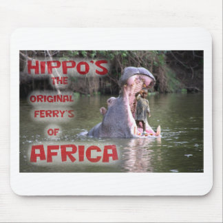 hippo ferry mouse pad
