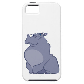 Hippo For Christmas Case For The iPhone 5