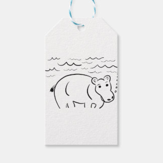 Hippo Gift Tags