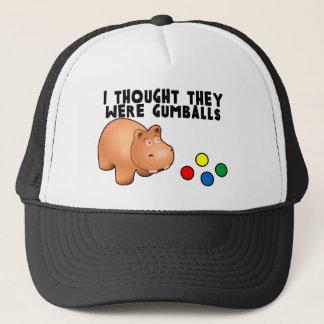 Hippo Gumballs Trucker Hat