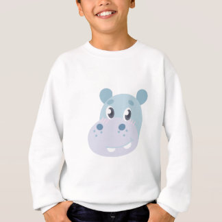 Hippo Head Sweatshirt