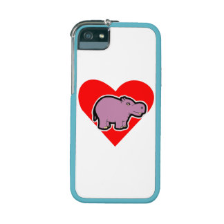 Hippo Heart Cover For iPhone 5