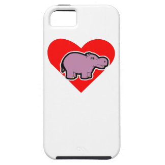 Hippo Heart Cover For iPhone 5/5S
