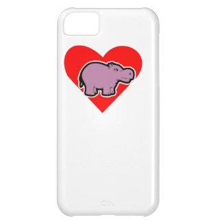 Hippo Heart iPhone 5C Case