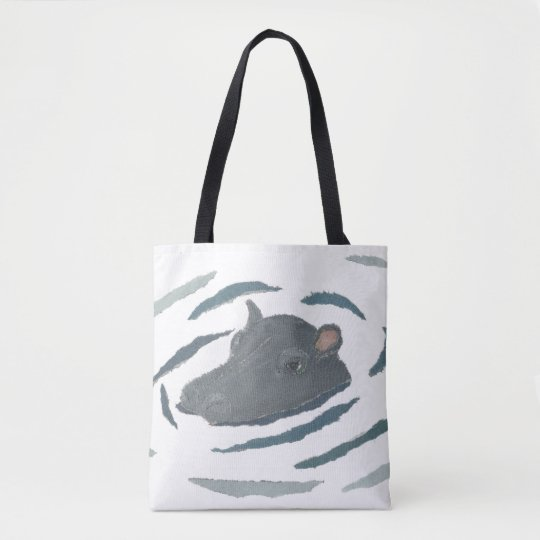 Hippo, Hippopotamus, Wildlife, Animals Tote Bag