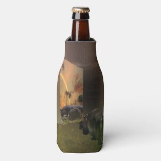 Hippo In Love With Story Book, Stubby Holder Bottle Cooler