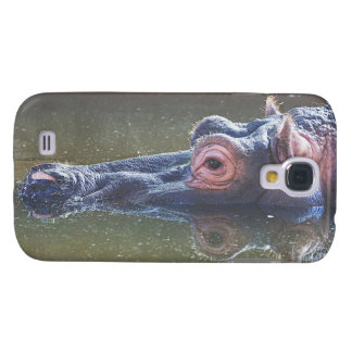 Hippo In The Water Samsung Galaxy S4 Cover