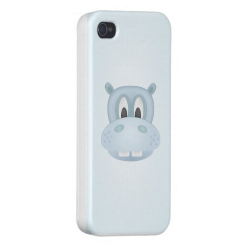 Hippo iphone4 case iPhone 4/4S cases