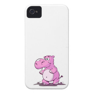 Hippo iPhone 4/4s phone case