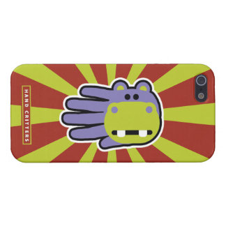 Hippo iPhone 5 Case Savvy