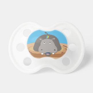 Hippo Jungle Animal Pacifier Dummies