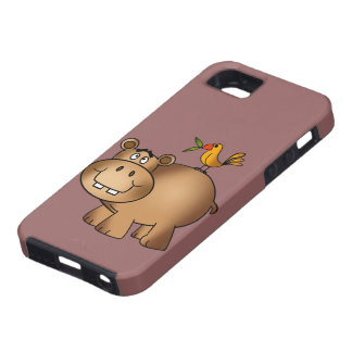 Hippo po and Birdie iPhone 5 Case