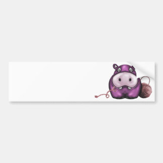 hippo products bumper stickers