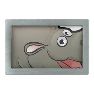 Hippo Safari Animals Cartoon Character Belt Buckles