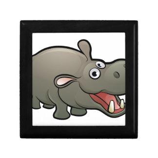 Hippo Safari Animals Cartoon Character Gift Box