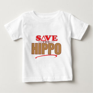 Hippo Save Baby T-Shirt