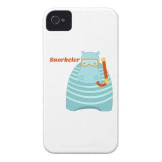 Hippo Snorkeler iPhone4 Case