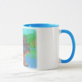 Hippo Splash Mug