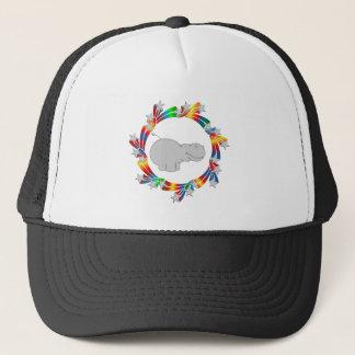 Hippo Stars Trucker Hat