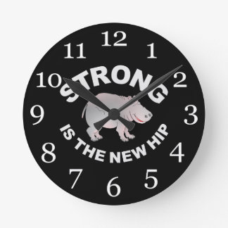 Hippo, strong is the new hip clock