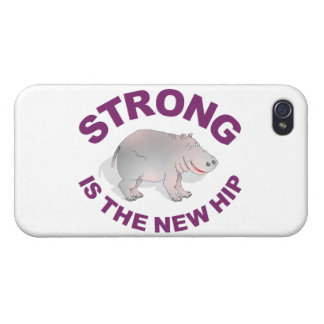 Hippo, strong is the new hip iPhone 4 case