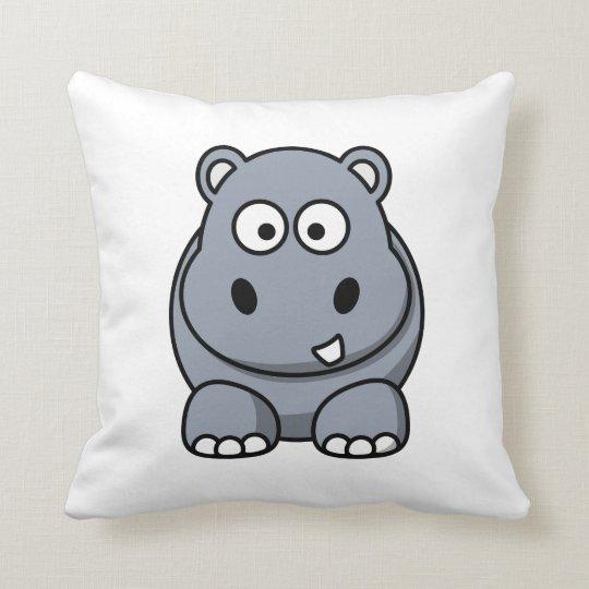 hIPPO Throw Pillow