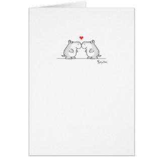 HIPPO VALENTINE'S DAY Valentines by Boynton Card