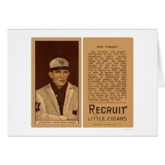 Hippo Vaughn Yankees Baseball 1912 Card