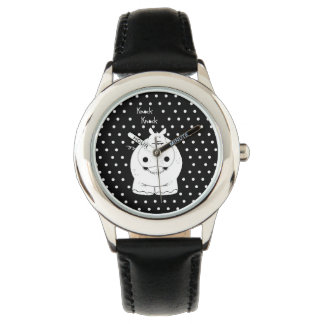 Hippo with quote watch