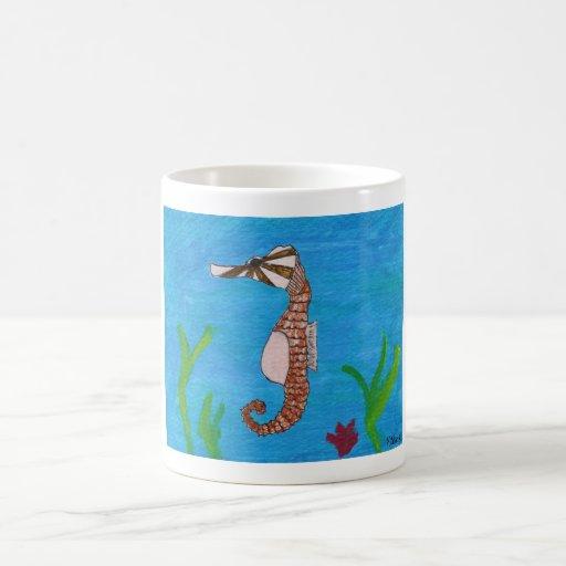 Hippocampe en mer par le kolohe Kristin de tween Tasse À Café