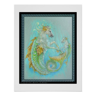 Hippocampus (Horse Dragon) Poster