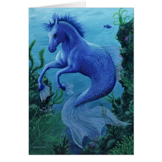 Hippocampus notecard