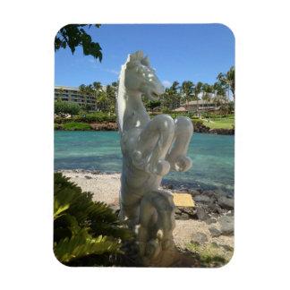 Hippocampus (Sea-Horse) Statue, Waikoloa, Hawaii Magnet