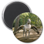 Hippogriff 2 Inch Round Magnet