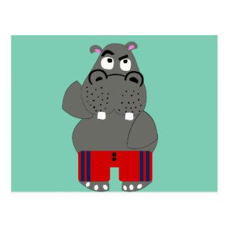 Hippopotame Cartes Postales