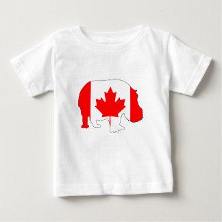 Hippopotamus Canada Baby T-Shirt
