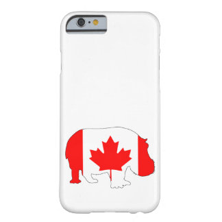 Hippopotamus Canada Barely There iPhone 6 Case