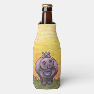 Hippopotamus Gifts & Accessories Bottle Cooler