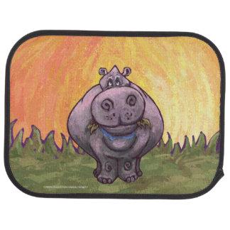 Hippopotamus Gifts & Accessories Car Mat