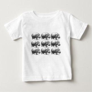 hippopotamus gold baby T-Shirt