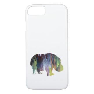 Hippopotamus iPhone 8/7 Case