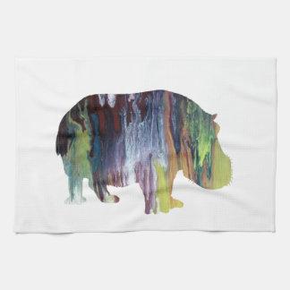 Hippopotamus Kitchen Towel