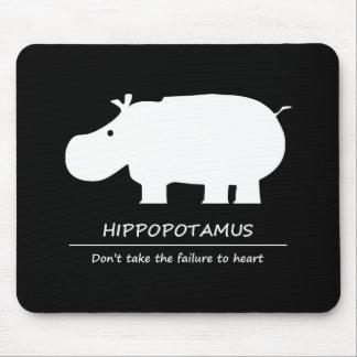Hippopotamus Mouse Pad